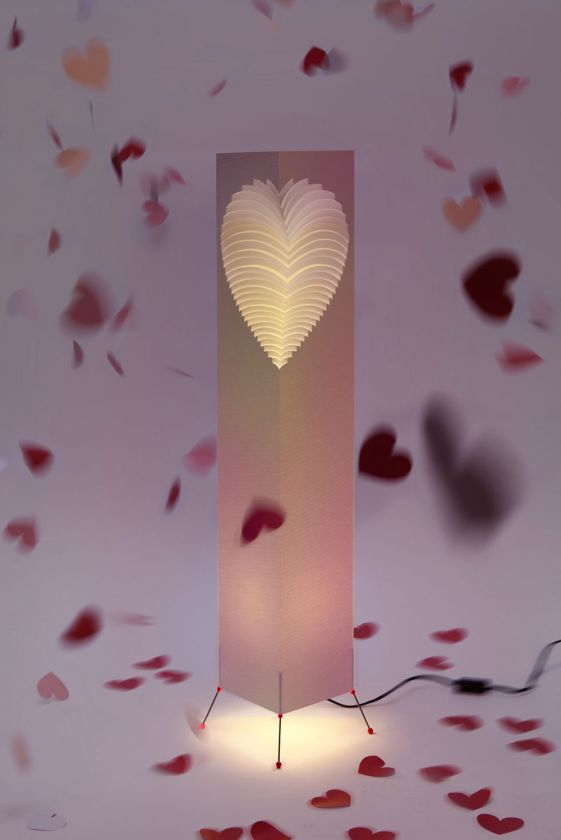 "Heart - Floor Lamp 107cms (43"")"