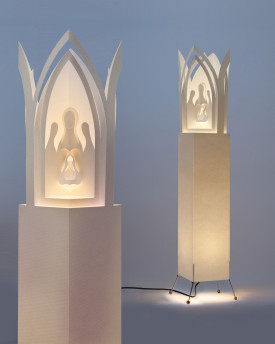 "Bethlehem Prague - Floor Lamp 107cms (43"")"