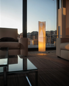 "Guard floorlamp 70cms(27.5"")"